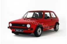 Otto Mobile - Scale 1/12 - Volkswagen Golf I GTI G013 - Red