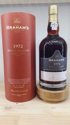 1972 Colheita Port Graham's Single Harvest - bottled in 2015 - 1 bottle (75cl) in original packaging