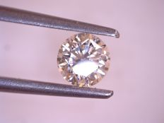 0.47 ct Brilliant cut diamond, I SI2, HRD Certificate, 100% feedback