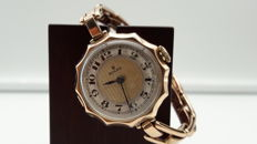Rolex Lady Vintage Art Deco watch in 9 kt gold. From the 1920s