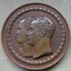 Russia – bronze medal 1818 commemorating the laying of the foundation stone of the national monument on the Kreuzberg