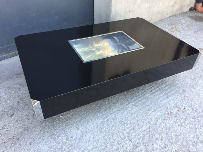 Willy Rizzo Coffee Table.Willy Rizzo For Mario Sabot Coffee Table Catawiki