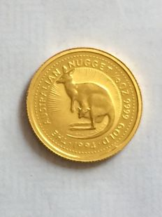Australia - 15 Dollars 1994 'The Australian Nugget' - 1/10 oz gold