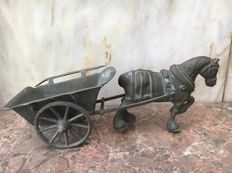 Horse-drawn wagon, 19th Century