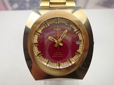 Technos 'Gold Deluxe Borazon' Automatic stainless steel gents wrist watch c.1980/90s'