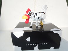 Cow Parade - Cowparade - Cow - Moo - Flage- Medium - Resin