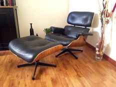Charles & Ray Eames for Herman Miller – Lounge chair + Ottoman