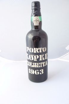 1963 Colheita Port Kopke - bottled in 1978