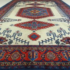Wiss - 337 x 239 cm - special eye-catcher - Persian carpet in wonderful, virtually unused condition - with certificate