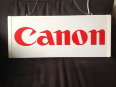 You can Canon - illuminated advertising sign-approx 1990