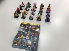 Collectible Minifigures - 71017 - The LEGO Batman Movie Series - Complete set of all 20 minifigures