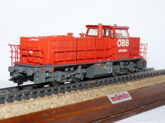 Märklin H0 - 37659 - Diesel locomotive from the 2070 series 'Hector' of the Austrian Federal Railways (ÖBB)