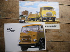 DAF Series 1800-1900 Brochure 01. 1969/DAF Trailer Programme Cataloges/Brochure 03.1962.