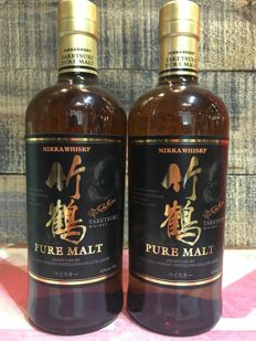 Taketsuru Pure Malt Whisky 700ml x 2 bottles