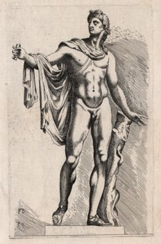 François Perrier ( 1594 - 1649) - Apollo belvedere - First edition - 1638