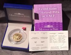 France - 10 Euro 2006 'Centennial of the 1st ACF Grand Prix' - ¼ oz Gold
