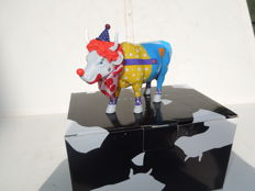 Cow Parade - Cowparade - Put a Clown in your life- Medium - Resin