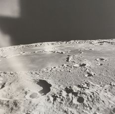 NASA - Apollo 15 - View of craters of the Moon from spacecraft - 1971