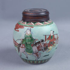 KANGXI style Famille verte -China - early 20th century