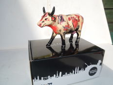 Cow Parade - Cowparade - Vaca Tattoo- medium - porcelain