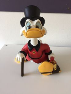 Disney, Walt - Figure - Scrooge McDuck with suitcase (2000s)