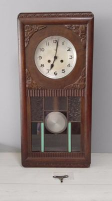 Oak FMS wall clock – circa 1960