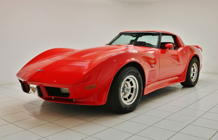 Chevrolet - Corvette C3 Stingray Targa wide-body - 1979