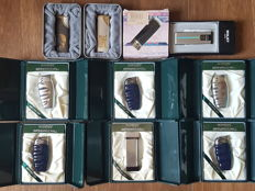 10 Lighter Pack: 6 WINSET International Lighters Made in Switzerland + 2 Champ + 1 Comfort + 1 WINJET