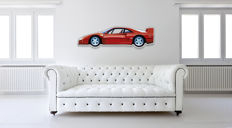 Halmo Collection - Ferrari F40 plexiglass model