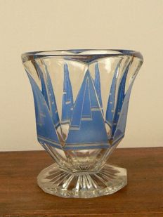 Bohemia - Stylish decorated Art Deco vase
