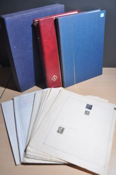 USA - Batch from classic to modern on sheets, in stock books and more