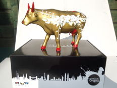Cow Parade - Cowparade - Vysoky Smalt - Large - Resin.