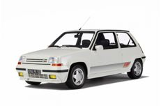 Otto Mobile - Scale 1/12 - Renault 5 GT Turbo Phase 2 - White