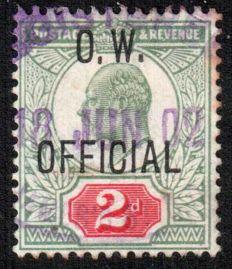 Great Britain King Edward VII 1902 - 2d Office of Works Official.