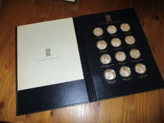 """Franklin Mint 1979 pieces of silver """"the House of Orange-Nassau"""""""