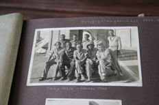 Photos of German prisoners of war in Libyan and Egyptian captivity