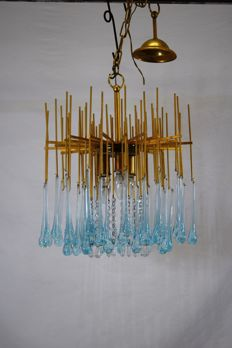 Unknown designer – Chandelier with 3 lights