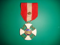 Order of the Crown of Italy medal