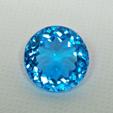 Swiss Blue Topaz - 9.98ct