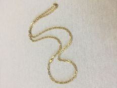 14K gold necklace - 55 cm - ***no reserve price***