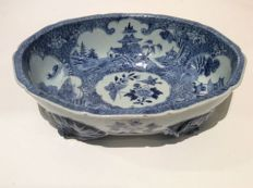 Blue and White Serving Bowl - China - 18th Century