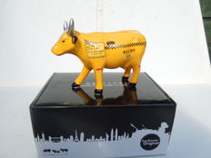 Cow Parade - Cowparade - Taxi Cow- medium - porcelain