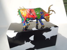 Cow Parade - Cowparade - Guang Gong- Medium - Resin