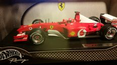 Hot Wheels Elite - Scale 1/18 - Ferrari F1 - 2002