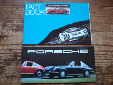 Porsche Fact Book and Folding brochure