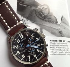 ASTROAVIA – Aviator chronograph – large size 44 mm