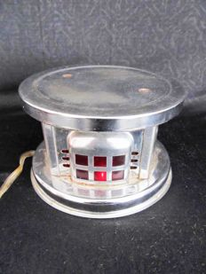 Vintage electric tea light - hot plate with lighting