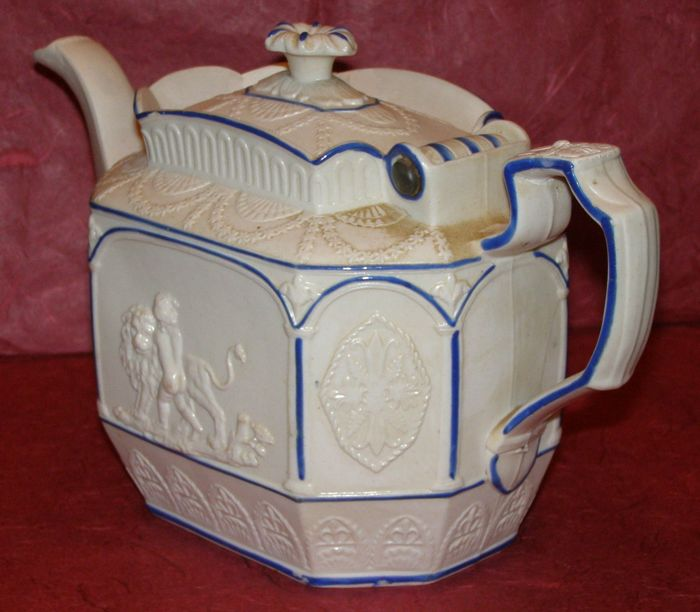 "Chethan & Wolley antique teapot ""  Power of Love  """