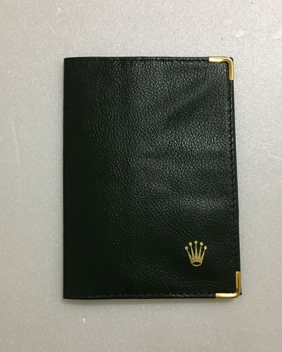 ROLEX  Original green passport folder--No Reserve Price