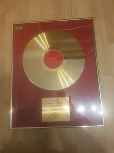Beyonce Gold Disc Krazy in Luv